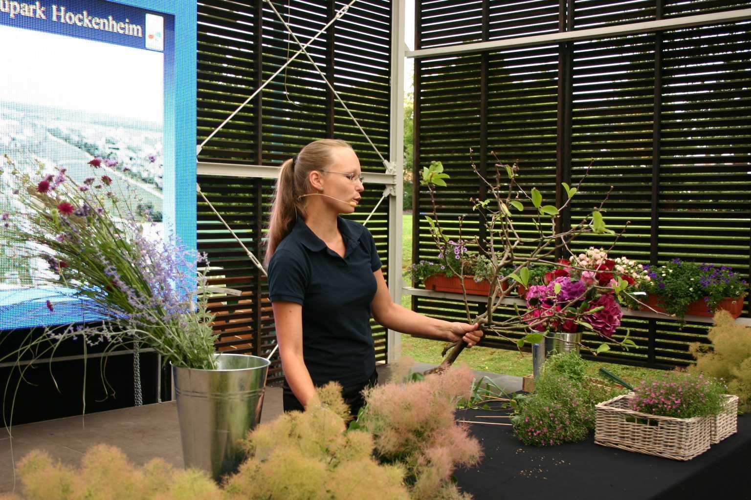 Bundes Gartenshow Katrin Da Silva